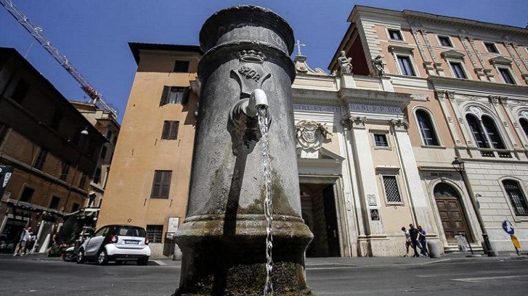 Roma si prepara per il razionamento dell'acqua