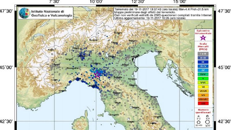 Sisma a Parma, torna l'incubo 2012