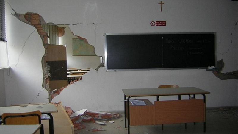 Scuole: 1 miliardo di euro per prevenzione del rischio sismico