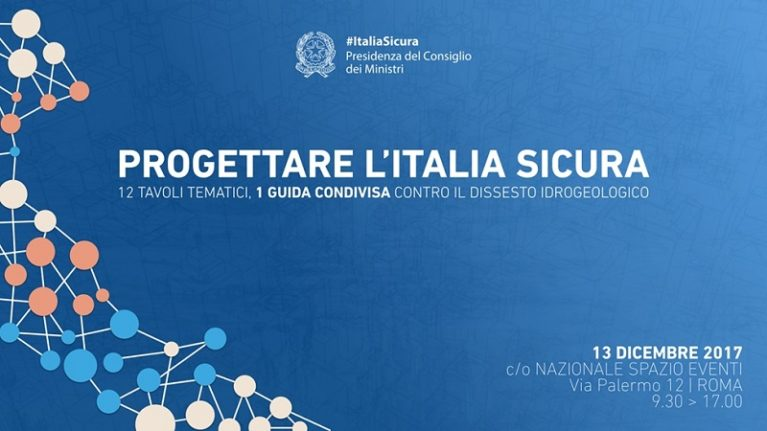 #ItaliaSicura: online le linee guida per la progettazione in materia di dissesto idrogeologico