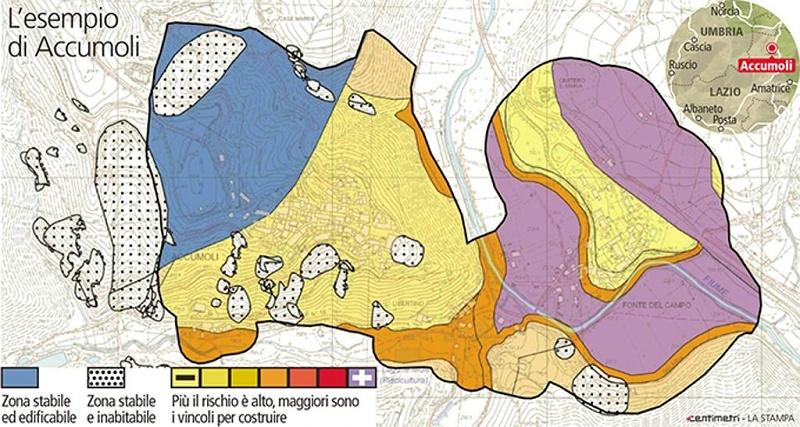 Mappatura metro per metro per ricostruire dopo i terremoti