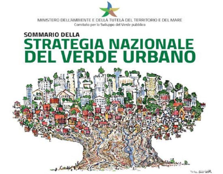 Presentata la prima Strategia Nazionale del Verde Urbano