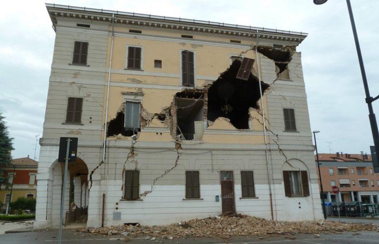 6° anniversario terremoto Emilia Romagna, i geologi: incrementare la sicurezza sismica delle abitazioni