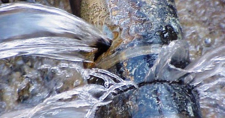La rete idrica è un colabrodo