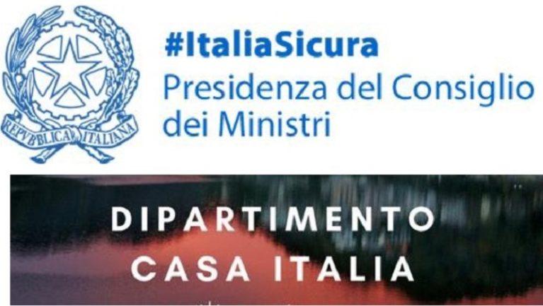 Abolizione di Italiasicura e del dipartimento Casa Italia: in Gazzetta il decreto-legge