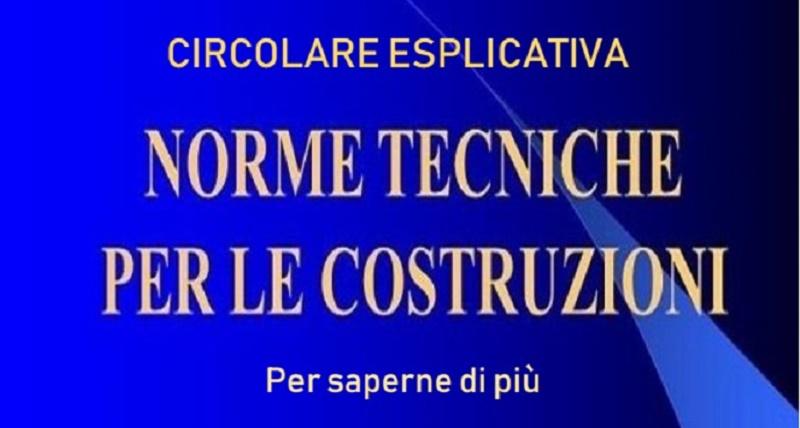Circolare Norme Tecniche: da Emanuele Renzi ulteriori informazioni per saperne di più