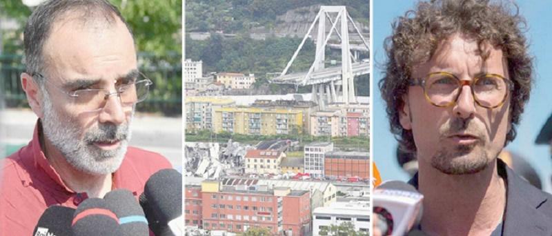 """Ponte Morandi, salta il capo della commissione Ferrazza. Toninelli: """"Ragioni di opportunità"""". Brencich si dimette"""