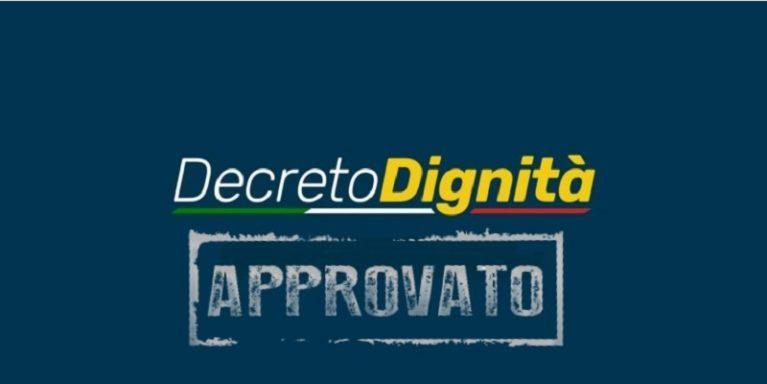 Senato: approvato in via definitiva il decreto dignità che diventa legge