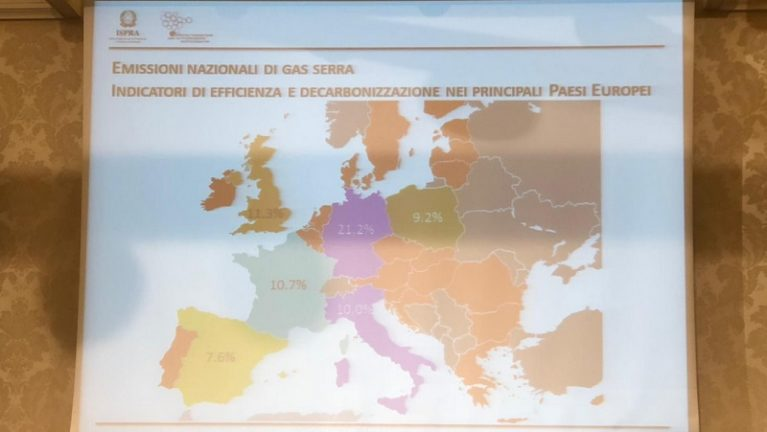 Ispra: il sistema energetico italiano è tra i più efficienti in Europa senza nucleare