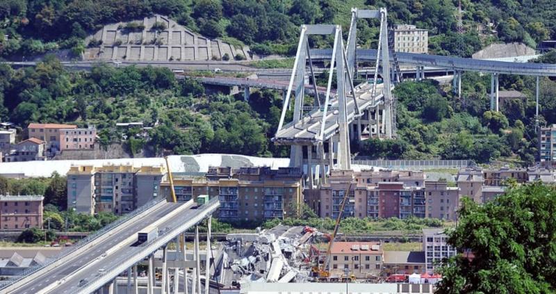 1° anniversario crollo ponte Morandi, geologi: criticità innanzitutto idrogeologica
