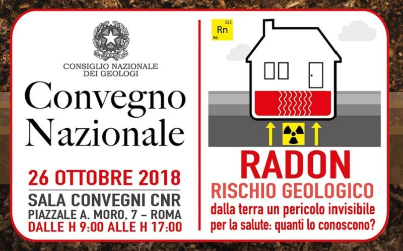 Il gas radon è la seconda causa di tumore ai polmoni dopo il fumo, i geologi: da otto mesi l'Italia è in condizione di infrazione rispetto alla Direttiva europea 2013/59 Euratom