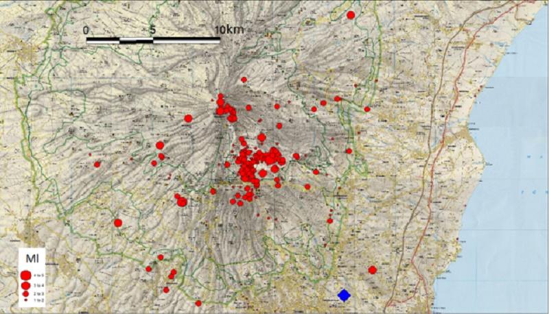 Sisma 4.9 a Catania, geologi a disposizione del Dipartimento di Protezione civile