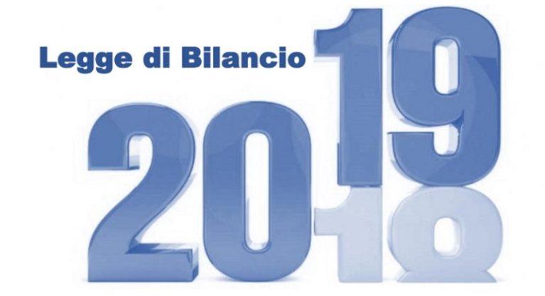 Legge di Bilancio 2019: I provvedimenti per le Infrastrutture e per il Territorio