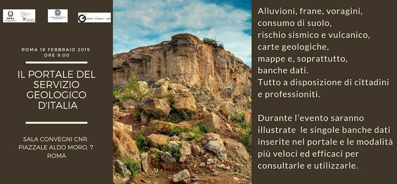 Il Portale del Servizio Geologico d'Italia