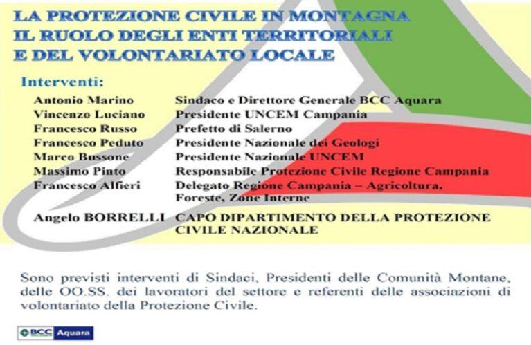 La Protezione Civile in Montagna – Il Ruolo degli Enti Territoriali e del Volontariato Locale
