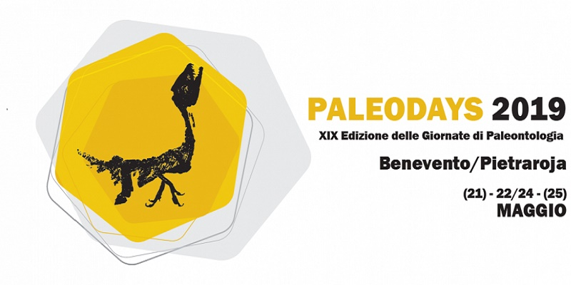 Paleodays 2019 – XIX Edizione delle Giornate di Paleontologia