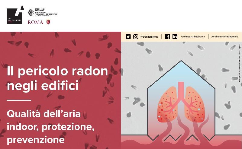 Il pericolo radon negli edifici. Qualità dell'aria indoor, protezione, prevenzione