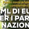 Parchi, dal ministero dell'Ambiente 85 milioni contro la crisi climatica