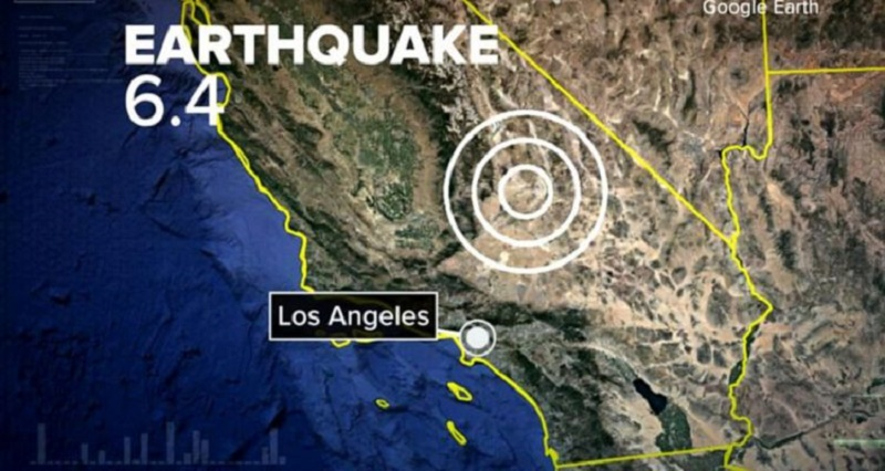 Terremoto in California, è il più forte degli ultimi vent'anni