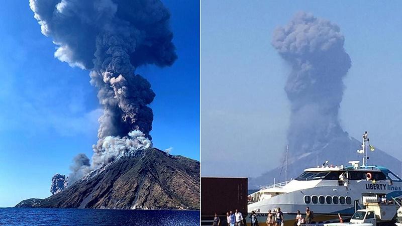 Eruzione Stromboli, geologi: veicolare i piani di emergenza alla popolazione e ai turisti