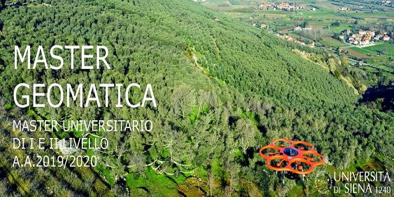 Master Universitario in Geomatica – A.A. 2019/2020 Centro di GeoTecnologie – San Giovanni Valdarno (Arezzo)