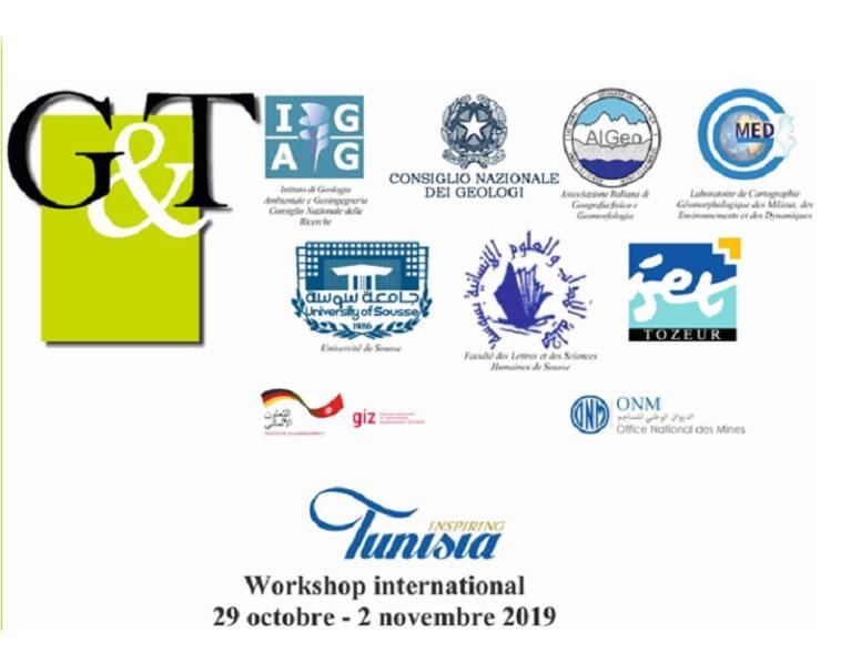 """Workshop internazionale G&T """"Valorizzazione del Patrimonio Geologico e Geomorfologico come vettore di sviluppo del turismo sostenibile"""""""