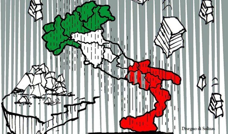 Siamo un Paese che teme la pioggia
