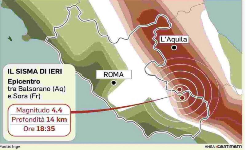 Abruzzo, la scossa sentita a Roma apre una nuova fase