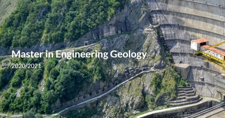 Centro di Geotecnologie (CGT) dell'Università di Siena – Master di II livello in Engineering Geology – A.A. 2020-2021