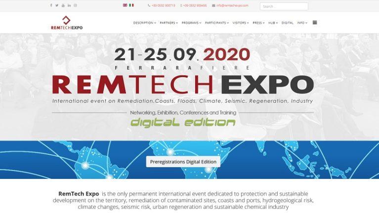 Il CNG al RemTech Expo 2020