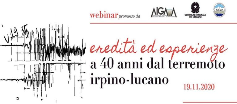 40° anniversario terremoto Irpinia, i geologi: una tragedia che portò alla nascita della moderna Protezione Civile