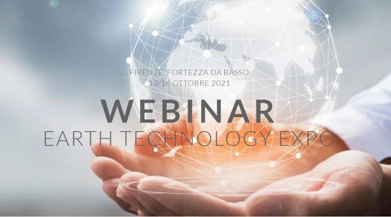 """WEBINAR """"EARTH TECHNOLOGY EXPO"""""""