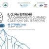 """Webinar """"IL CLIMA ESTREMO: tra cambiamenti climatici e gestione del territorio"""""""
