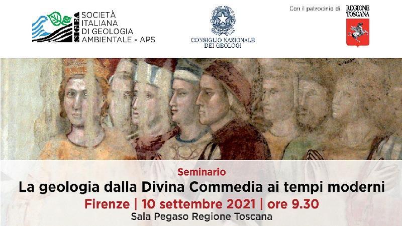 """Webinar """"La geologia dalla Divina Commedia ai tempi moderni"""""""