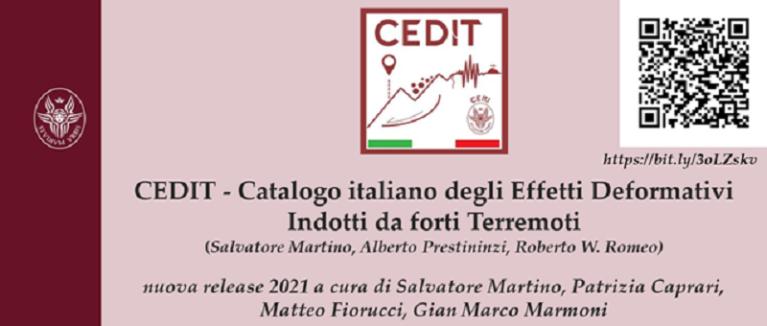 Seminario «Il Catalogo CEDIT – release 2021: aggiornamenti e nuova piattaforma di consultazione on-line»