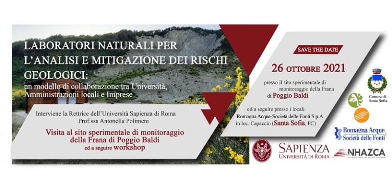 Laboratori naturali per l'analisi e mitigazione dei rischi geologici: un modello di collaborazione tra Università, Amministrazioni locali e Imprese