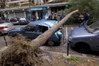 La pioggia travolge mezza Italia