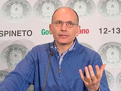 """Premier Letta: """"rilanciare l'edilizia è una priorità per l'economia"""""""