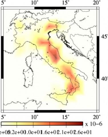 INGV, dove avverranno forti terremoti in futuro?