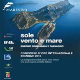 Sole, Vento e Mare per le isole minori e le aree marine protette italiane: Concorso d'idee internazionale – Edizione 2013
