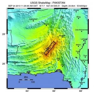 Il terremoto in Pakistan fa nascere una nuova isola