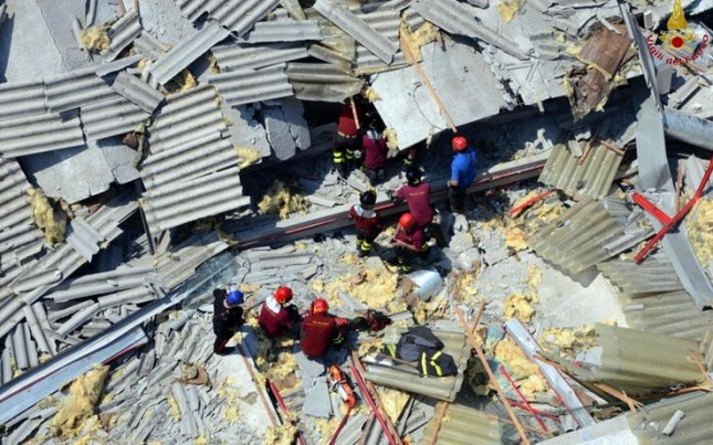 Terremoto 2012 indennità al via