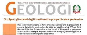 Bollettino Geologi novembre-dicembre 2013