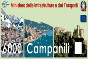 Programma 6000 Campanili, finanziati ulteriori 59 progetti con 50 MLN