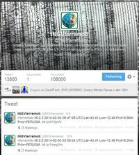 Il terremoto viaggia sempre più sui social network