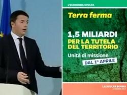 """Piano """"Terra ferma"""", in arrivo 1,5 miliardi per la tutela del territorio"""