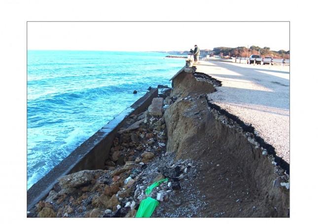 L'erosione è il male più diffuso nel litorale