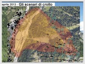 Mont de La Saxe frana a Courmayeur, e le scienze della terra in tutta Italia