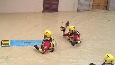 Alluvione sulle Marche due morti a Senigallia