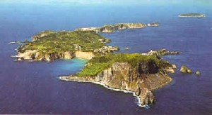 Geologi studiano sull'isola